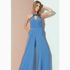 Nossa sexta-feira já começa assim... Toda 'blue'!!!#reginasalomao #SunsetVibesRS #SS17