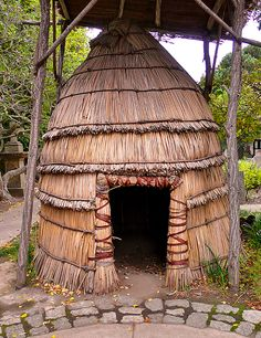 Ohlone huts where strong, warm and waterproof.