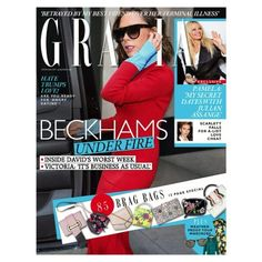 In this weeks Grazia: after hacked emails threaten David Beckhams clean-cut image it was business as usual for Victoria as she headed to New York for fashion week. But what does the future hold for Brand BeckhamIn fashion whether you wear yours for fun or as a lifetime investment we bring 2017s arm candy in our Bag Special plus shop the street trends that will see you through to summer! And with a revenge porn helpline under threat we speak to its founder Laura Higgins about what the future…