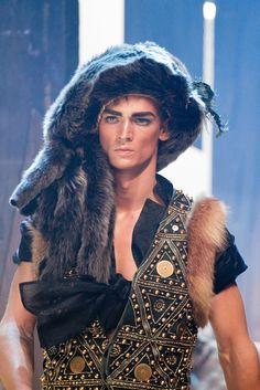 John Galliano Fall Winter 2011 Menswear