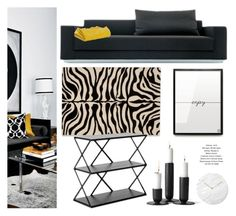"""""""Black Living Room Decor"""" by monmondefou ❤ liked on Polyvore featuring interior, interiors, interior design, home, home decor, interior decorating, Menu and living room"""