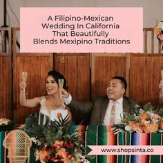 A Filipino-Mexican Wedding In California That Beautifully Blends Mexip – Sinta & Co. Wedding Themes, Wedding Blog, Our Wedding, Wedding Ideas, Filipino Wedding Traditions, Mexican Themed Weddings, St Clare's, Filipino Culture, Family Values