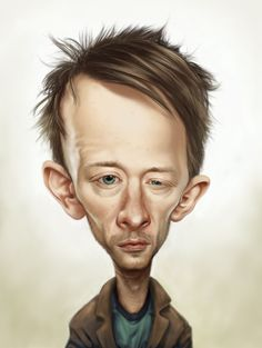 English musician Thom Yorke by ~rohanvoigt on deviantART