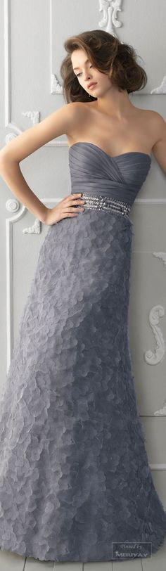 Aire Barcelona - Style 225 Strapless Textured Silk A-Line Bridesmaid Dress with a Sweetheart Neckline Grey Bridesmaids, Grey Bridesmaid Dresses, Colored Wedding Dresses, Wedding Gowns, Grey Evening Dresses, Evening Gowns, Long Dresses, Prom Dresses, Dress Prom