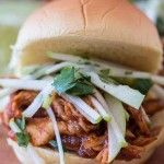 Apple Butter BBQ Chicken Sliders | Tevis Home