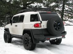 I looooove the Fj cruiser! In sand, white, black...luv the rims & tires!