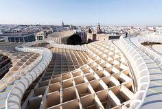 Metropol Parasol / J. Mayer H Architect #architecture #engineering