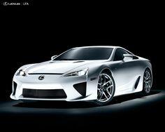 Lexus LFA. Drool
