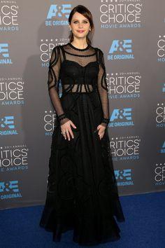 Felicity Jones de D&G als Critics Choice Awards
