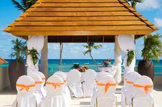 Stunning views from the Royal Gazebo will set the perfect backdrop for your vows #SecretsRoyalBeach