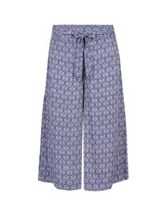 Abstract Print Culottes   M&S