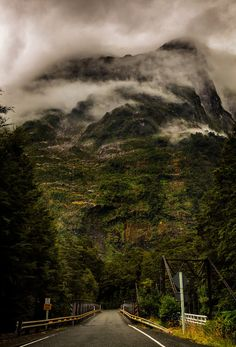 The Tutoko River Bridge, Fiordland, South Island, New Zealand