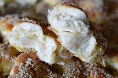 Mucenici moldovenesti impletiti - CAIETUL CU RETETE Dessert Recipes, Desserts, Feta, Cheesecake, Muffin, Breakfast, Interior, Design, Tailgate Desserts