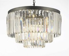 Buy the Gallery Clear Direct. Shop for the Gallery Clear 9 Light 3 Tier Retro Odeon Crystal Glass Fringe Chandelier and save. Chandelier Shades, Chandelier Lighting, Empire Chandelier, Ring Chandelier, Kitchen Chandelier, Chandelier Bedroom, Bronze Chandelier, Bedroom Lighting, Pendant Lamp