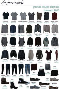 O que ficou no meu guarda-roupa cápsula | Desancorando