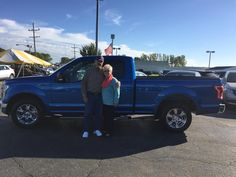 JAY AND GLORIA's new 2016 Ford F150! Congratulations and best wishes from Kunes Country Ford Lincoln of Sterling and Chris Lansford.