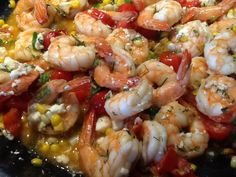 Divine shrimp with herbs Litsa B recipes with love!