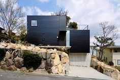 Image result for house on a steep slope