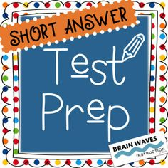 Help students master responding to short answer questions with this unit (and top-secret READ strategy). Student Teaching, Teaching Tools, Teacher Resources, Teaching Ideas, Test Taking Skills, Test Taking Strategies, Speech Language Pathology, Language Arts, Text Based Evidence