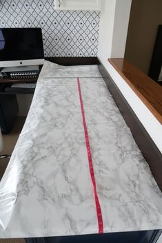 How-To Install Marble Contact Paper Counters How-To Install Marble Contact Paper Counters Kristen Prim kristenprim bathroom Looking to replace your old counter tops but can t afford nbsp hellip cabinet makeover Galaxy Slime, Diy Concrete Countertops, Kitchen Countertops, Countertop Redo, Peel And Stick Countertop, Faux Marble Countertop, Faux Granite, Raw Wood Furniture, Up House
