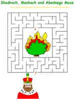 S, M, and A Furnace maze
