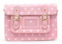 bag, clutch, purse, hearts, pastel, cute, kawaii, pink - Wheretoget