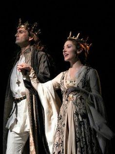 David Tennant and Emma Hamilton in Richard II