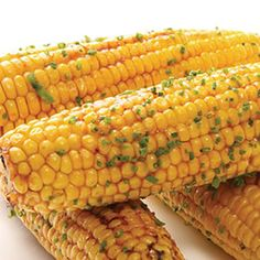 Sweet Corn with Southern BBQ Butter