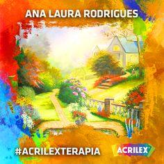 #Acrilexterapia por Ana Laura Rodrigues