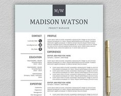 Resume Format For Teachers In Word Format Inspiration Teacher Resume Template  Resume For Teacher  Cover Letter For .