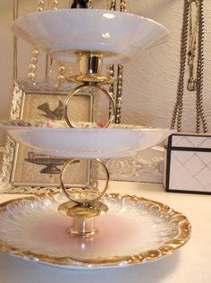 Purple Lilac Candle Jewelry Dish Cupcake Plate Glass Pedestal Stand | LilacsNDreams - Housewares on ArtFire | Fantastic Artfire Shops | Pinterest | Purple ... & Purple Lilac Candle Jewelry Dish Cupcake Plate Glass Pedestal Stand ...
