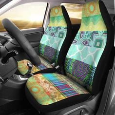 Boho Dreams Car Seat Covers car accessory, car accessory for woman, seat cover for car, seat cove Custom Car Accessories, Car Accessories For Women, Honda, Pom Poms, Diy Bumper, Chevy, Volkswagen, Toyota, Pink Wheels