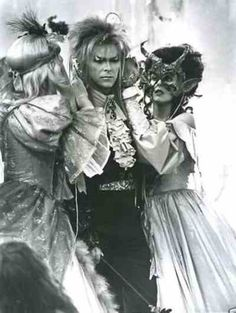 David Bowie as the goblin king in Labyrinth. Absolutely <3 Labyrinth my all time favorite movie!!!