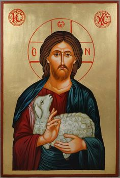 Hand-painted icon of Christ the Good Shepherd About our icons BlessedMart offers hand-painted religious icons that follow the Russian, Greek, Byzantine and Roman Catholic traditions. We partner with some of the most experienced iconographers in the country. Artists with more than 20 years of experience in modern iconography. Each and every icon that we sell in our