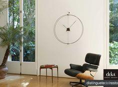 """En Deka encontraras el reloj ideal para tu hogar, en el cual, te encantara ver pasar las horas sentado. Deka """"distinguetedelresto"""""""