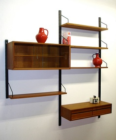 On Sale  Poul Cadovius modular Wall Unit by AardewerkenZo on Etsy, €750.00