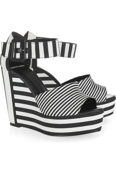 Striped shoes cool
