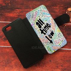 Band All Time Low Wallet Cases | ideacases.com - cute graphic tees    ORDER HERE => https://ideacases.com/shop/