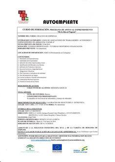 #Curso gratuito en #Riotinto y #Nerva #Huelva