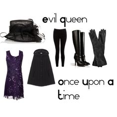 """""""Evil Queen from Once Upon A Time"""" by reannekesler on Polyvore"""