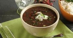 Crockpot Vegetarian Black Bean Soup