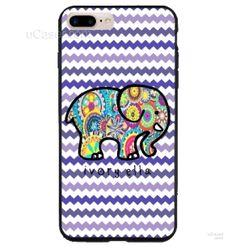Ivory Ella Ellephant Chevron Pattern iPhone Cases Case