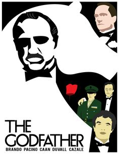 Minimalist poster art: The Godfather Godfather Graphic Design Projects, Graphic Design Posters, The Godfather Poster, Oscar Winning Films, Minimalist Poster, My Design, Deviantart, Movie Posters, Film Poster