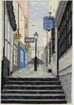 Christmas Steps (Bristol UK) - Cross Stitch Kit