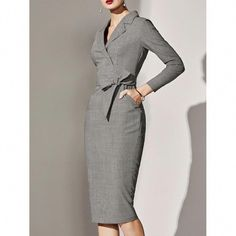 casual work Formal Business Attire, Business Professional Outfits, Professional Dresses, Business Dresses, Casual Work Outfits, Office Outfits, Stylish Outfits, Office Attire, Outfit Work