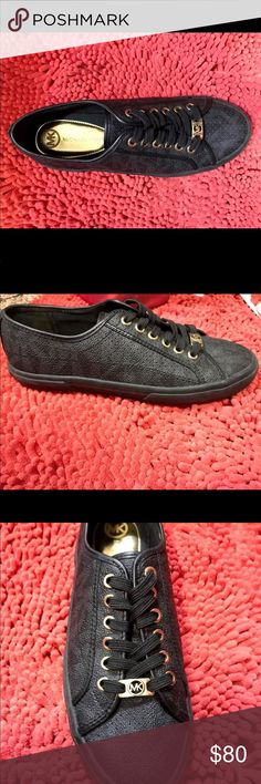 Michael Kors Sneakers Only worn twice!! Like new condition Michael Kors Shoes Sneakers