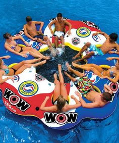 10-Person Tube-a-Rama Float by WOW World of Watersports #zulily #zulilyfinds