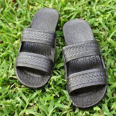 classic black pali hawaii sandals