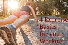 Get back to basics with these four exercises from CSU's Adult Fitness Program.