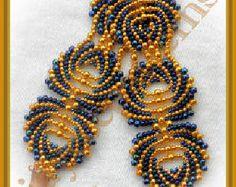 Sweethearts bracelet PATTERN by jayceepatterns on Etsy